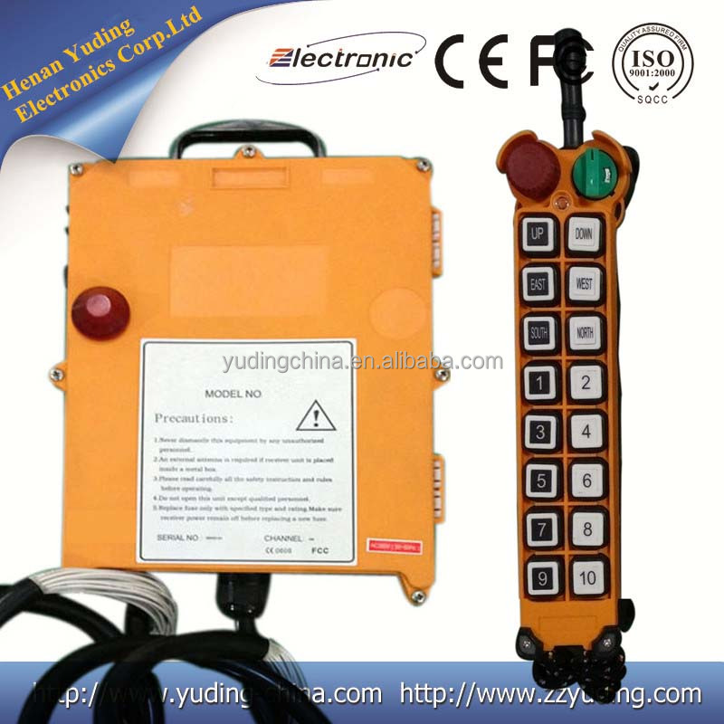Industrial radio remote control F21-16D for ladle cranes