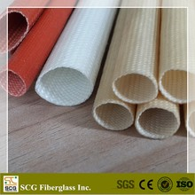 Silicone fiberglass braided sleeving