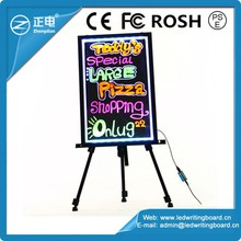Movable advertisment outdoor LED display board