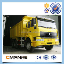 favorable price 6x4 tipper construction material truck with optional power
