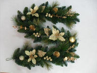 wholesale christmas wreaths 10 inch/ 12 inch