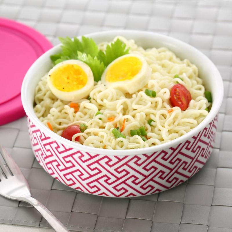 large noodle bowl