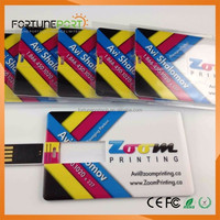Wedding Door Gifts New Zealand Visa/Business Card USB Flash Drives Free Double Sided Logo Printing Gift USB Drive 1gb 2gb 3gb 8g