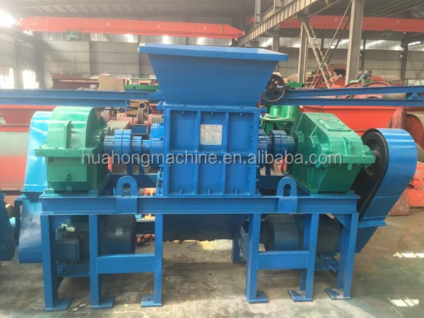 New steel iron /car shredding machine/double shaft shredder machine