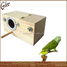 indoor wooden parrot bird house