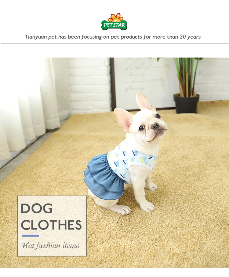 Tianuan Pet Lovely Summer Pet Clothes For Dogs,Dog Dress