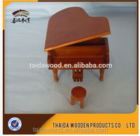Buy handmade wooden piano music box wth chair in China on Alibaba.com