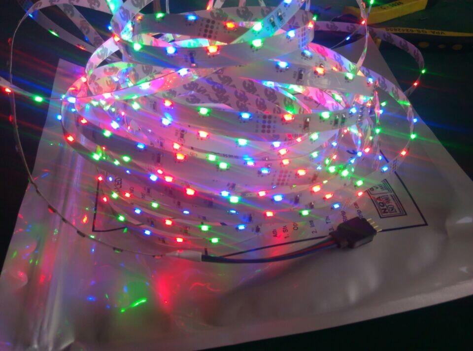Venta al por mayor adhesive led light strips compre online los 8mm rgb led tiras ip20 nonwaterproof 335 tiras de led para interiores 60 led aloadofball Gallery