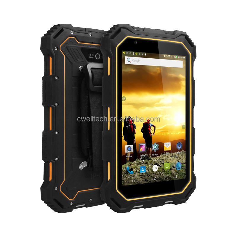 Alps S933L 4G LTE Single SIM card NFC OTG IP68 Waterproof Rugged Android <strong>tablet</strong>