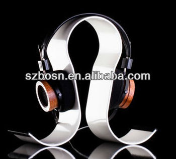 Hot sell Acrylic headphone display;Factory direct sell acrylic headset stand;