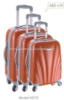 abs trolley luggage wheeled