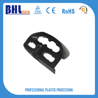 Black ABS custom made plastic sheet auto parts