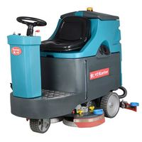 C350B smart floor scrubber used in small area with 36kg ,770w
