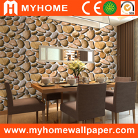 N-16051 Big flower home wall decor wallpaper, interior brick wall coverings