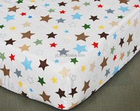 crib sheet cot sheet in bedding set printing for baby designs