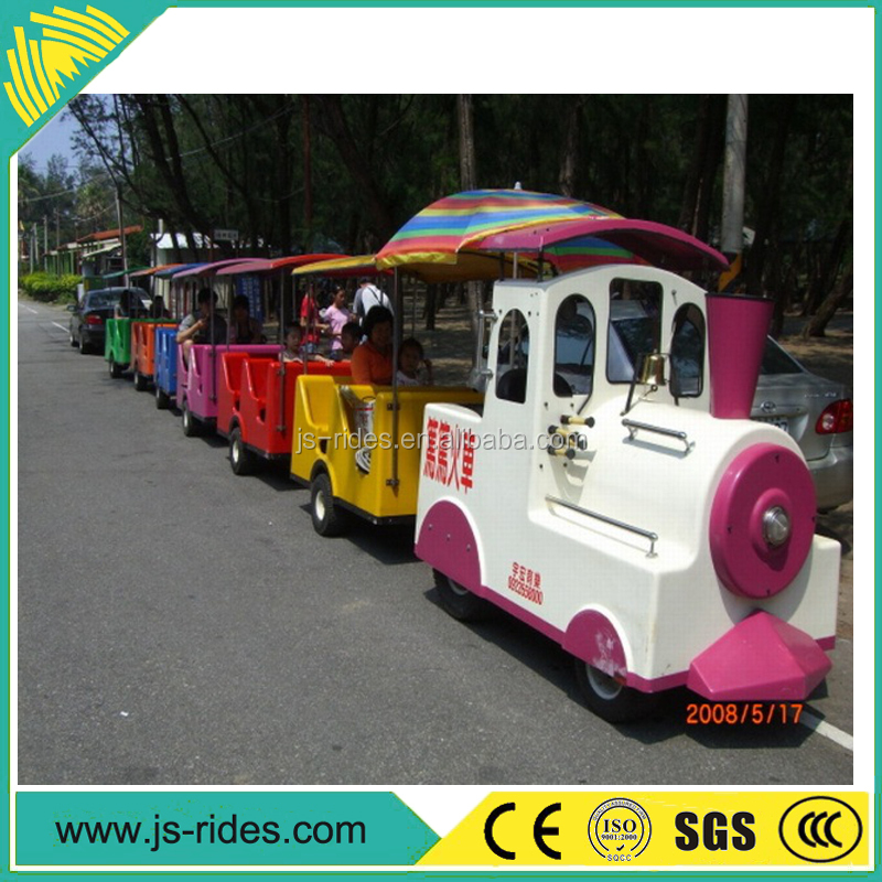 Outdoor amusement park electric mini electric train