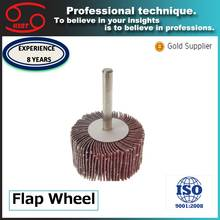 spindle mounted grinding disc abrasive flap wheels for metal polishing