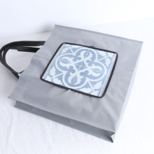 Machine printing new design foldable shopping bag