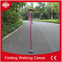 Professional manufacturer 2015 Latest design titanium walking cane