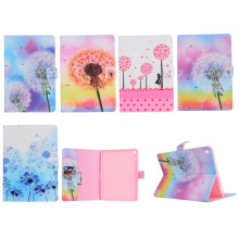 fashion style stand holder leather wallet case for ipad pro 9.7,Dandelion pattern tpu case for ipad pro 9.7