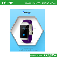 3D Rechargeable USB Data Online Sync OLED Display Activity Tracker Sleep Monitor and heart rate monitor Sport Watch