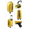 Customized ABS & PC Plastic Cover Trolley Luggage With Tsa Lock