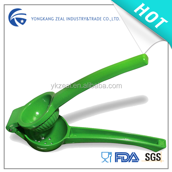 Zeal FS001C wholesale classic mini bar lime metal lemon squeezer