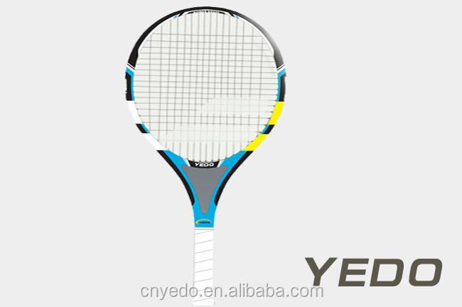 hottest tennis racket! China 2014 new OEM carbon fiber tennis racket head