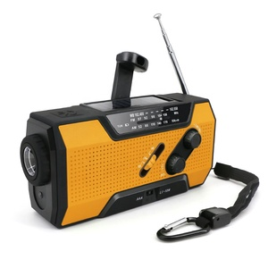emergency preparedness solar powered hand wind up radio