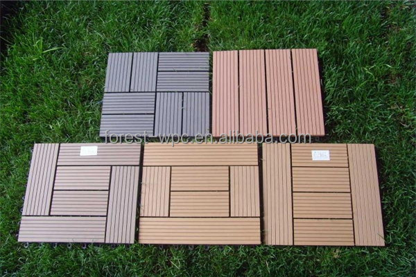 Solid bamboo board bamboo for outdoor wall decking tiles for Garden decking for sale