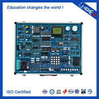 Microcontroller Comprehensive Experiment System, Science Training Experiment Kits, Single Chip Microcomputer Trainer