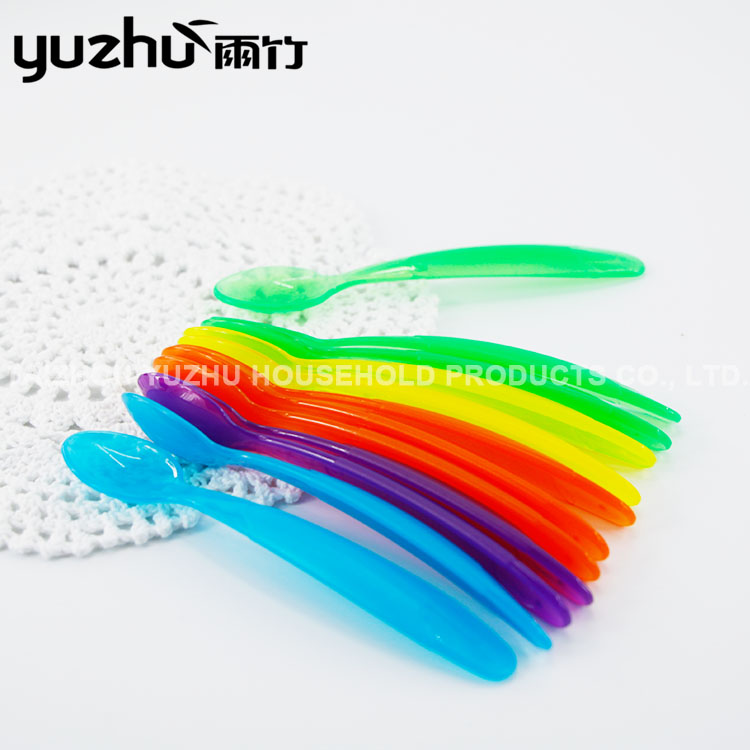 High Quality Professional Manufacture Colorful Plastic Spoon