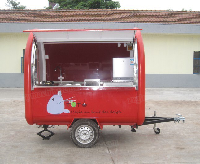 China Big Sale Bbq Food Trailer Mobile Food Truck For Sale