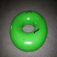 New design PVC material green swimming pool life buoy (M-074)