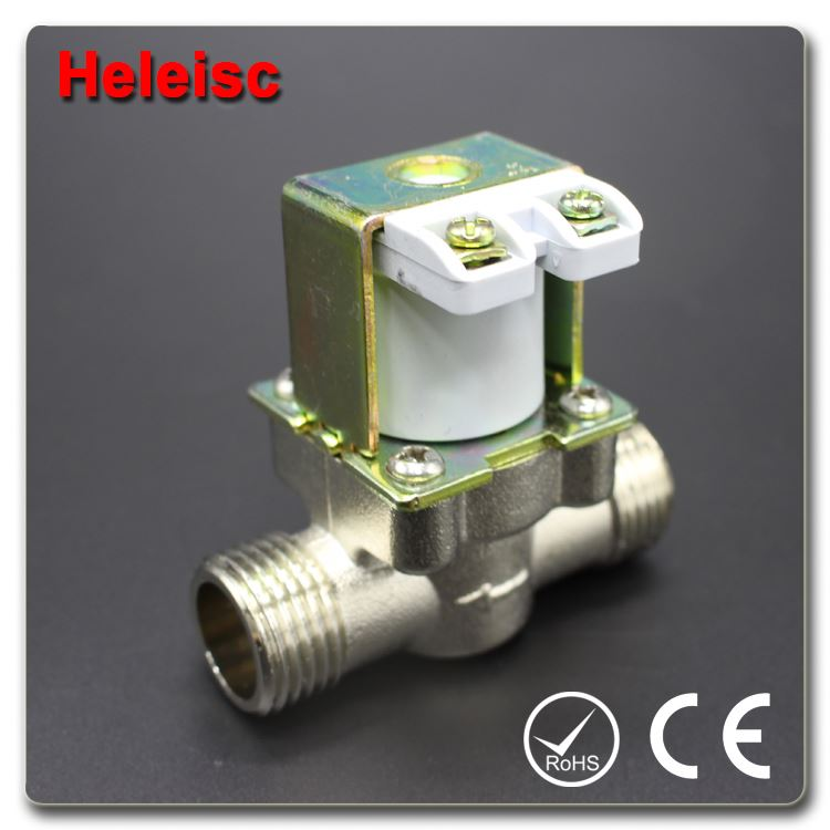 Water dispenser solenoid valve electric water valve 25mm copper pipe bend