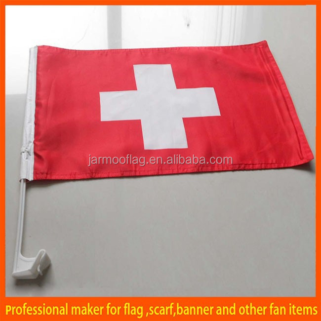 custom sports fans team flag for car