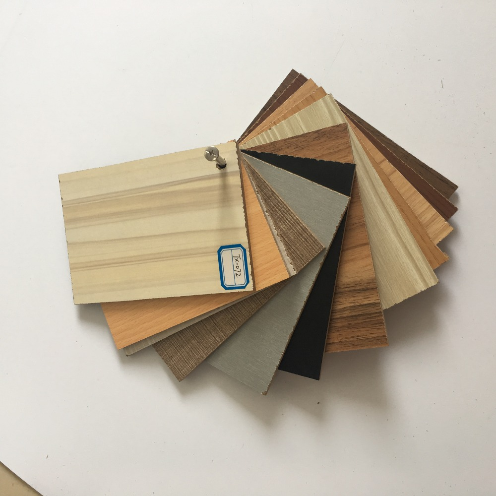 Synchronized embossing mdf wood board
