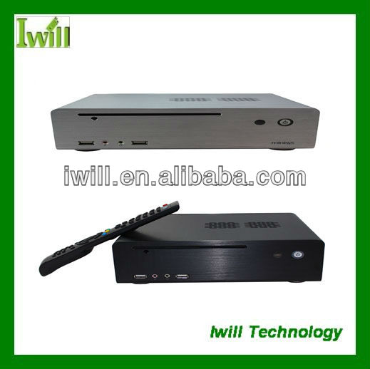 Iwill HT-80 pure aluminum mini home media case