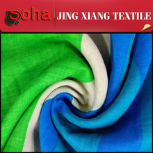 Small MOQ Spandex Fashion Ties 100% Rayon Woven Fabric Market In Indonesia The Model Of Indonesia Dress fabric