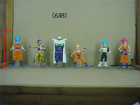 Furnishing Articles 55 Generation Six Dragon Ball Bottom Model Action Figure