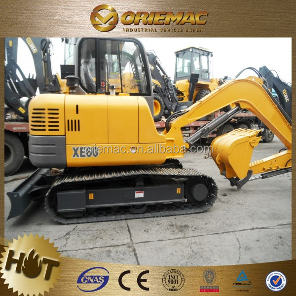 new digging crawler excavator for sale 0.044m3 XE15