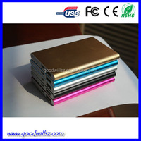 2015 portable 5000mah power bank slim power bank 5000 mah for android mobile phone,iphone 5 5s 6