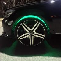 colorful LED Flash Tyre Wheel Valve Cap Light for Car Wheel Light Tire Light