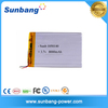 China battery factory li-polymer battery 8000mah 3.7v for GPS/Cell phone