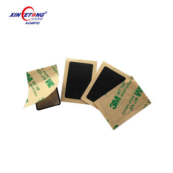 RFID NTAG213/215/216 Anti-metal circle tag NFC PVC Sticker for Working on Metal Surface
