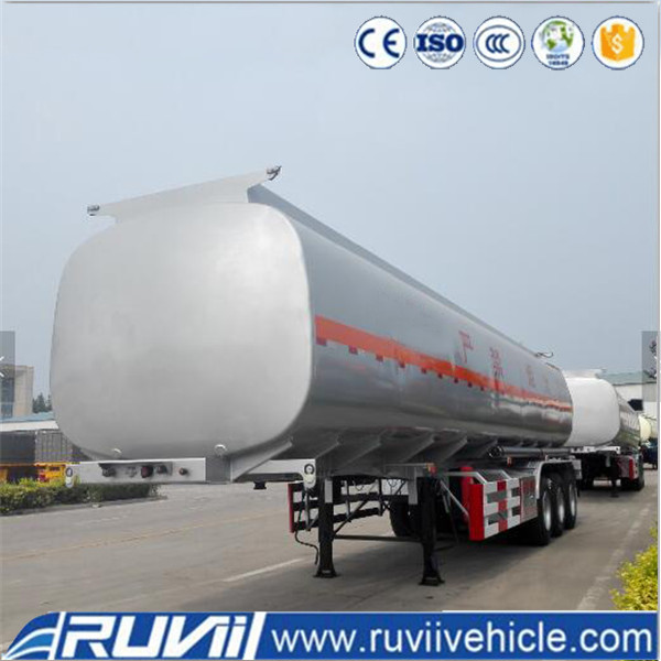 High Capacity 50000 liters oil fuel transport semi trailers