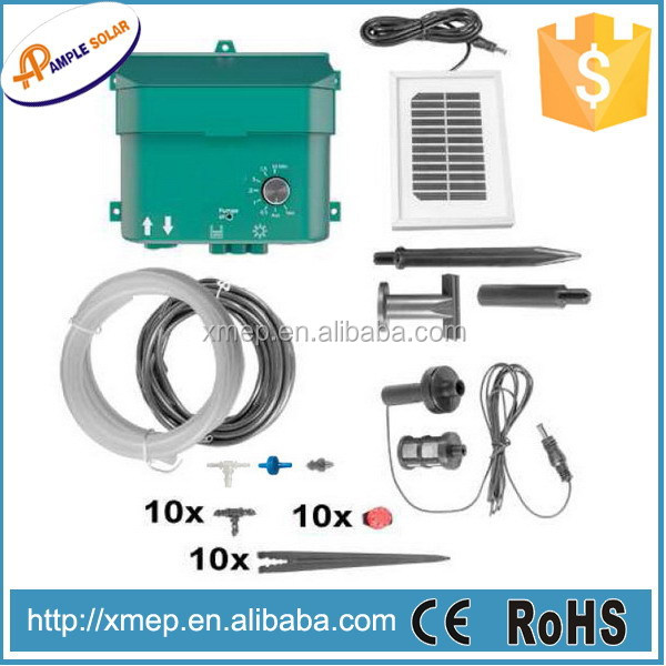 solar automatic irrigation system with 10pcs drippers (G336)