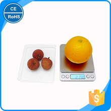 Stable performance Tare function steel 3kg household egg scales