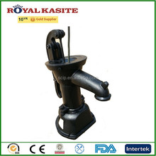 painted cast iron water pump, manual hand cast iron water pump, hand operated pumps