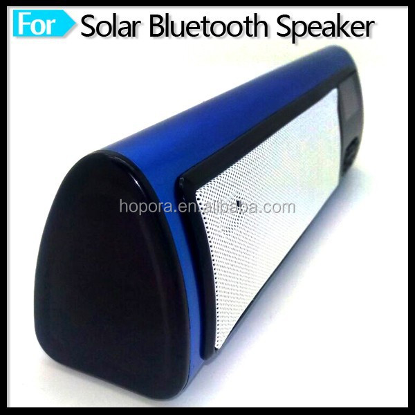 Mini Wireless Portable MP3 / MP4 Solar Power Bluetooth Speaker with FM Radio